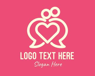 Communication - Communication Lovely Couple logo design