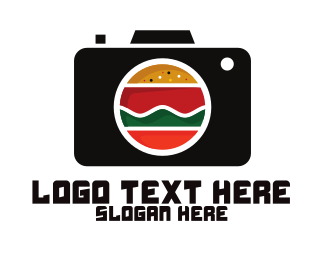 Food - Fast Food Photographer Camera logo design