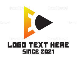 Calligraphy - Pencil Tech E logo design