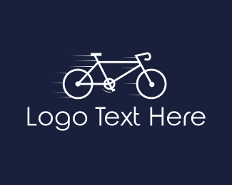 Cycling - Fast Bicycle logo design