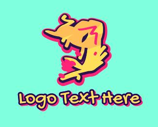 Number 9 - Graffiti Art Number 9 logo design