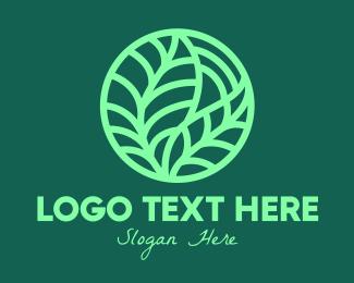 Natural Product - Green Botanical Garden logo design