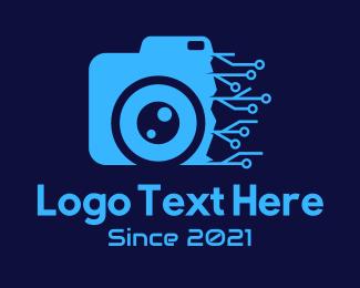 Camera Repair - Camera Circuit Repair logo design