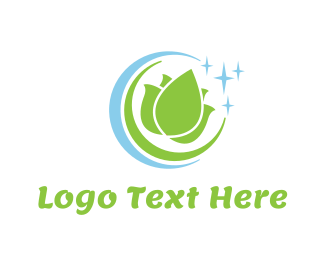 Detergent - Lotus Circle logo design