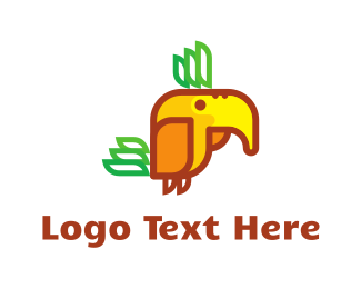 Flying - Flying Monster logo design