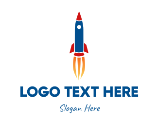 Toy Store - Rocketship Toy logo design