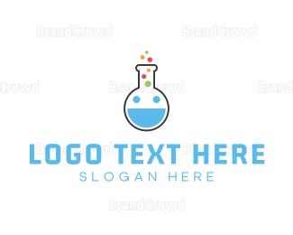 Research - Happy Lab logo design