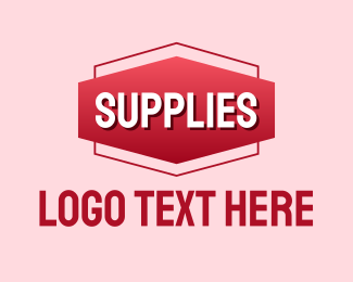 Banner - Supplies Banner Wordmark logo design