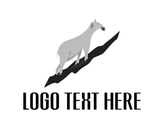 Lamb - White Goat logo design
