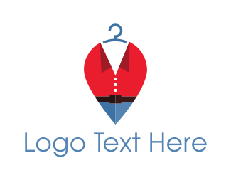 Hanger - Fashion Clothes Hanger logo design