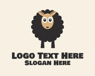 Black - Black Sheep logo design