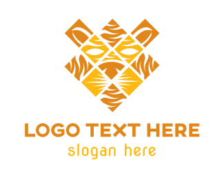 Lion Mosaic Logo