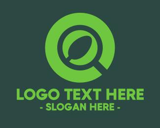 Vegan - Vegan Finder logo design