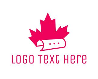 Message - Canadian Message logo design