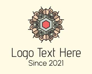 Interior - Mosaic Tile Interior logo design