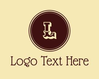 Cowgirl - Rodeo Lettermark logo design