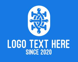 Science - Microbiological Science Lab logo design