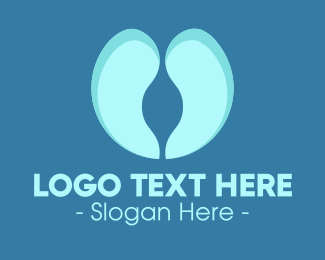 Liver - Blue Lungs logo design