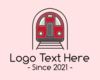 Toy Train - Subway Train logo design