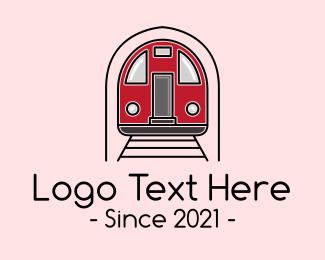 Train - Subway Train logo design