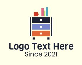Interior - Cabinet Interior Design logo design