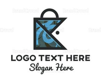 Bag - Fish Bag logo design