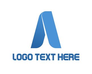 Aviation - Tech Letter A logo design