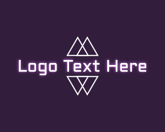 Luminosity - Modern Geometric Wordmark logo design