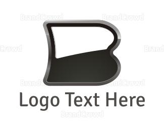 """Black Letter B"" by malbardesign"