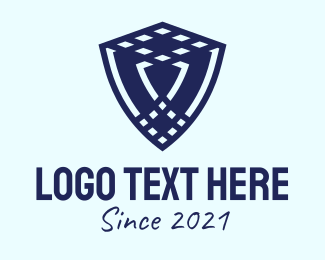 Insurance - Blue Insurance Shield logo design