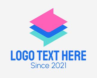 Technology - Colorful Chat App logo design