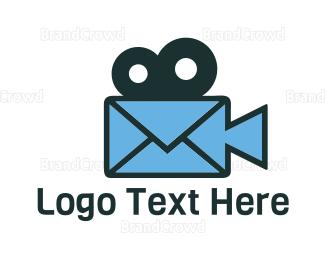 Film - Mail Film logo design
