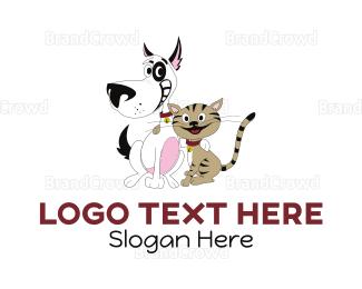 Smiling - Happy Pets logo design
