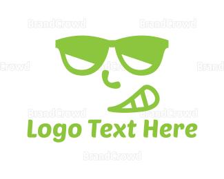 Smirk - Cool Smirk logo design