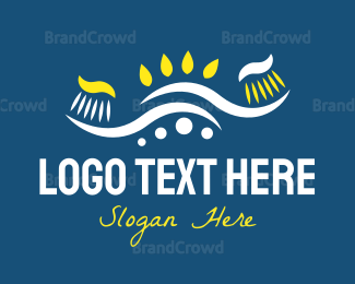 Dentist - Toothbrushes logo design