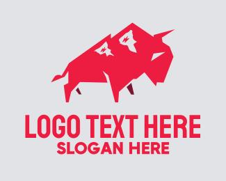 Polygon Bull Logo