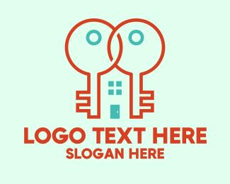 Locksmith - Locksmith Key House logo design