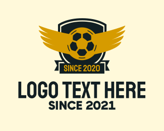 Sports Club - Soccer Club Wings logo design