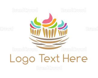 Cupcake - Cupcake Nest logo design