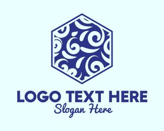 Victorian - Victorian Ceramic Tile logo design