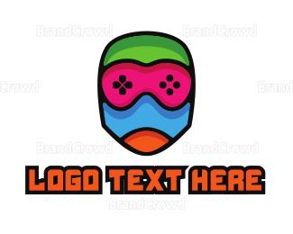 Costume - Colorful Gamer Mummy logo design