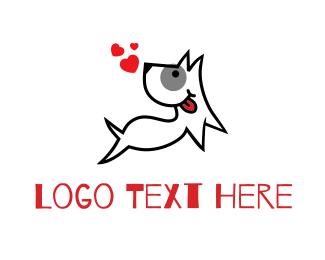 """Happy Love Dog"" by icenanas"