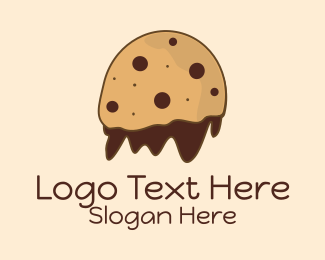 Snack Bar - Chocolate Cookie Mascot logo design