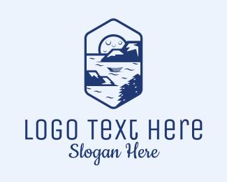 Sea - Ocean Sea Bay Emblem logo design