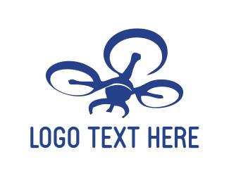 Blue Drone Logo