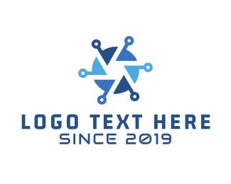 Shutter - Blue Shutter logo design