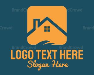 Roof - Orange Roof logo design