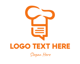 Recipe - Chef List logo design