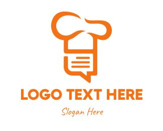 Review - Chef List logo design