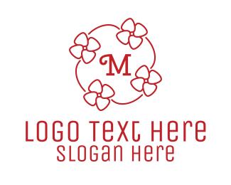 Girly - Girly Flower Lettermark logo design